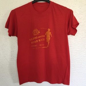 83' paper thin vintage road race tee #converse